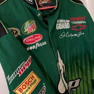 Dale Earnhardt JR Amp Firesuit Jacket NASCAR RARE